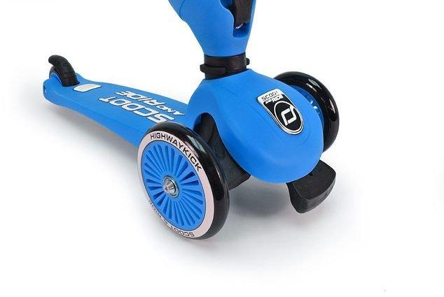 Трехколесный самокат с сиденьем Scoot&Ride HighwayKick от 1 до 5 лет (2 в 1)