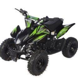 Детский квадроцикл бензиновый MOTAX ATV Х-15 50 сс в стиле Honda TRX 4-8 лет (задний привод, зарядка аккумулятора, 45 км/ч)