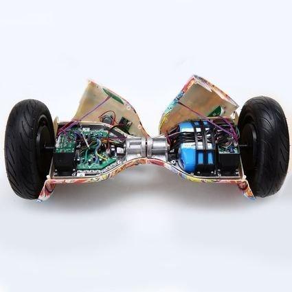 Гироскутер Smart Balance Черный Карбон 10,5 APP самобалансир (Samsung)